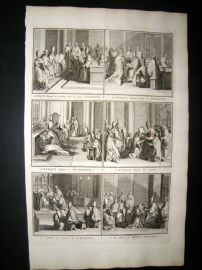 Picart C1730 Folio Antique Print. Religious Catholic 54